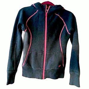 Tna grey zip hoodie